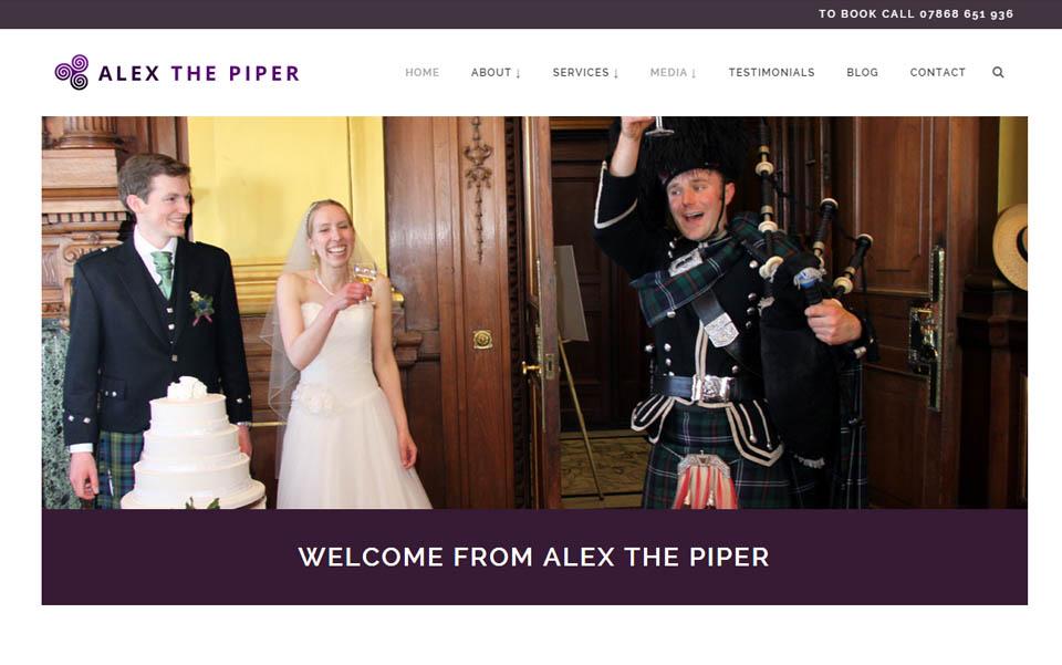 Alex the Piper