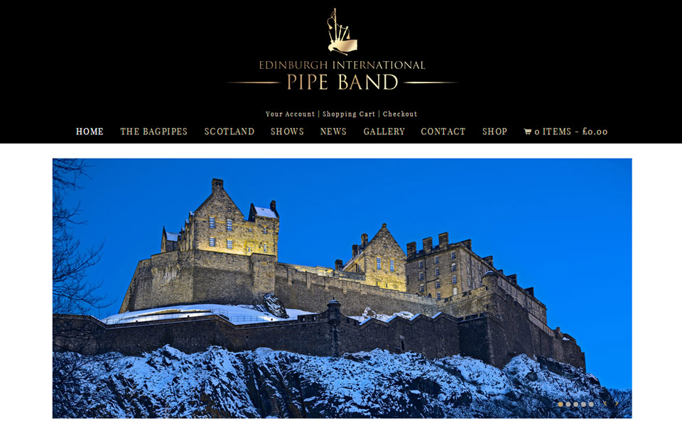 Edinburgh International Pipe Band