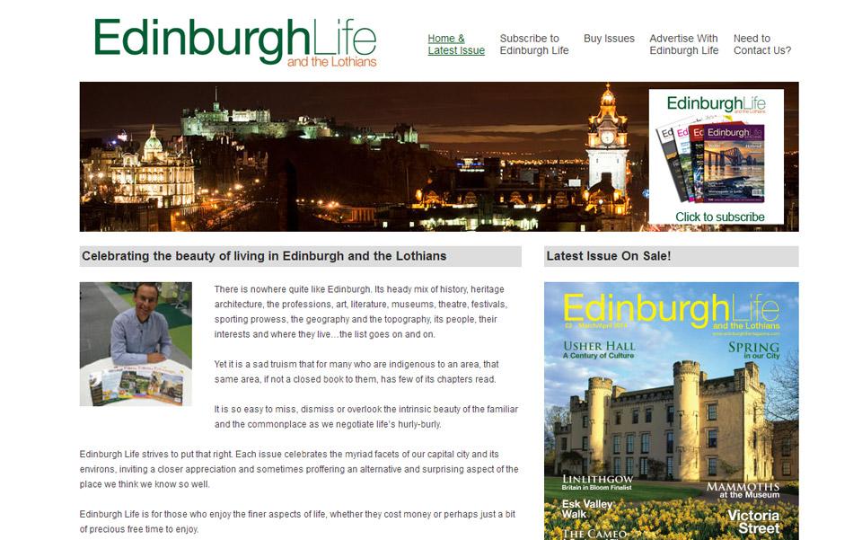 Edinburgh Life Magazine