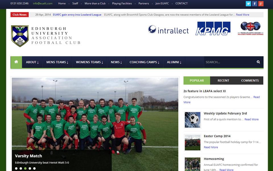 Edinburgh University Association Football Club.