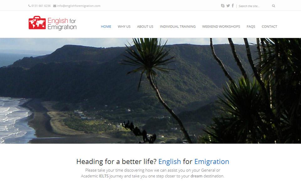 English for Emigration