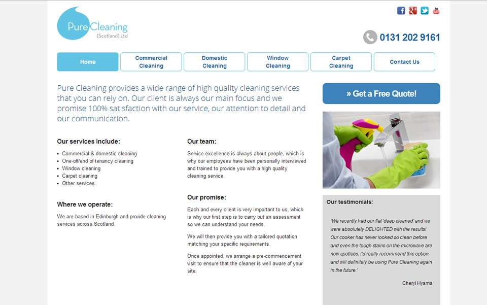 Pure Cleaning Scotland