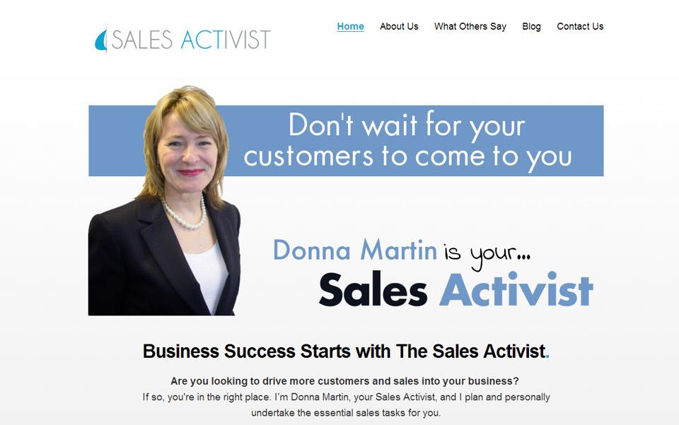 Sales activist