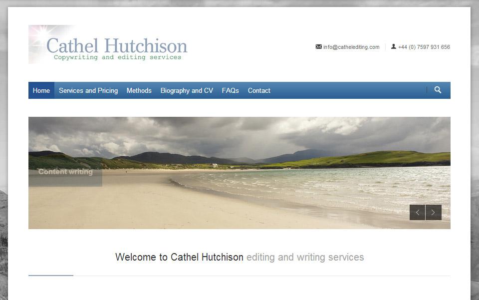 Cathel Hutchison Editing