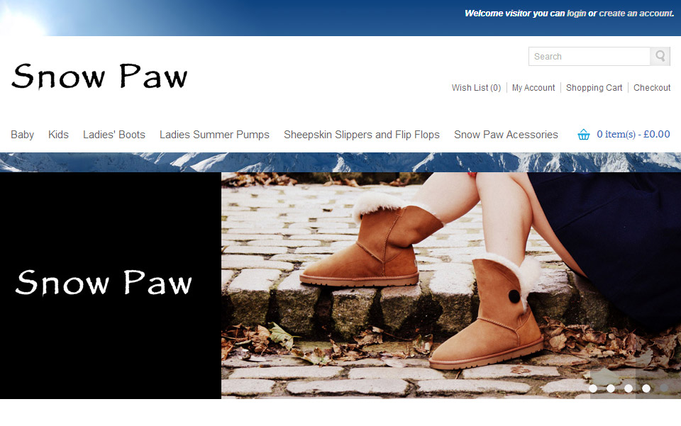 Snow Paw Boots