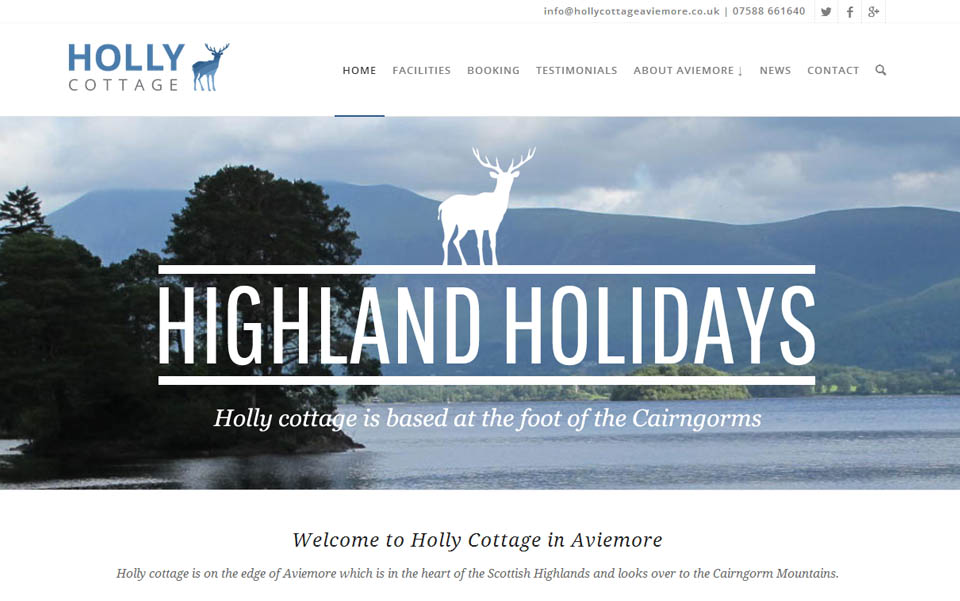 Holly Cottage in Aviemore