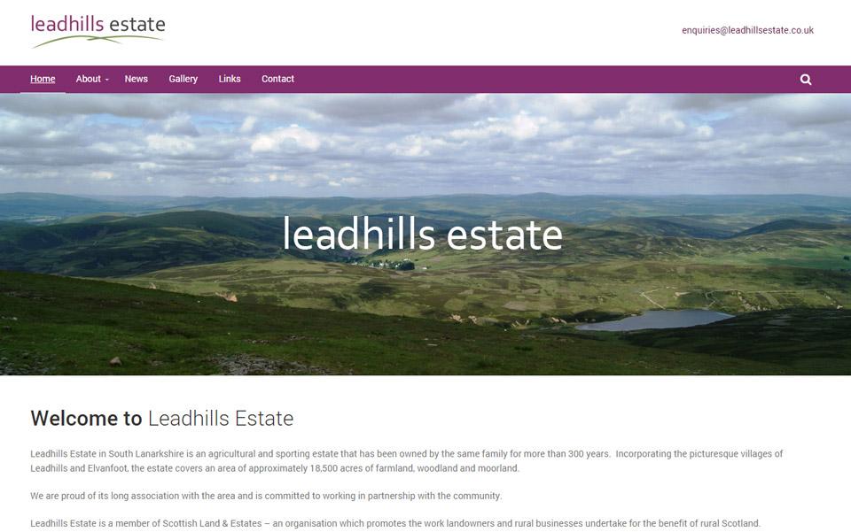 Leadhills Estate