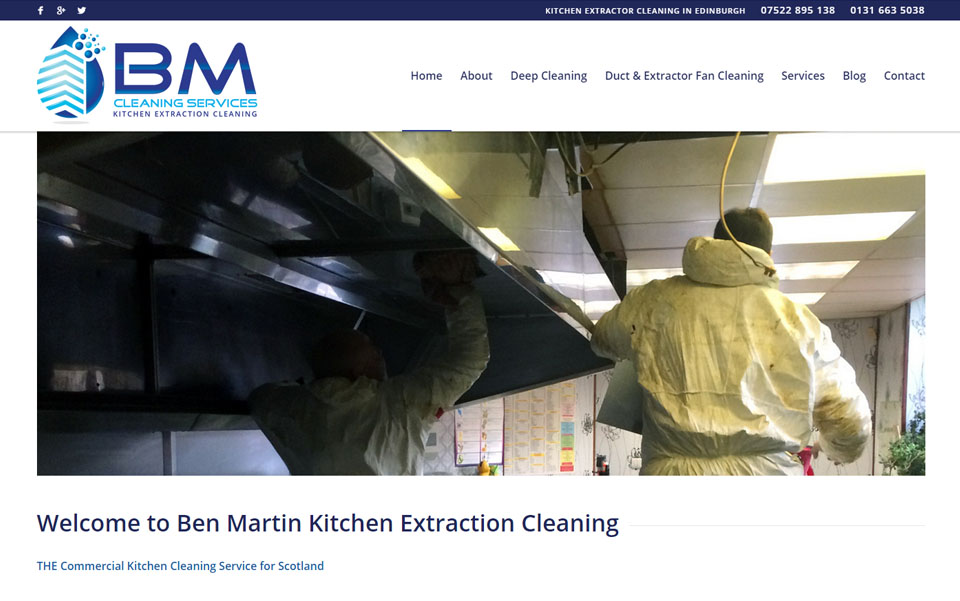 Ben Martin Kitchen Extraction Cleaning