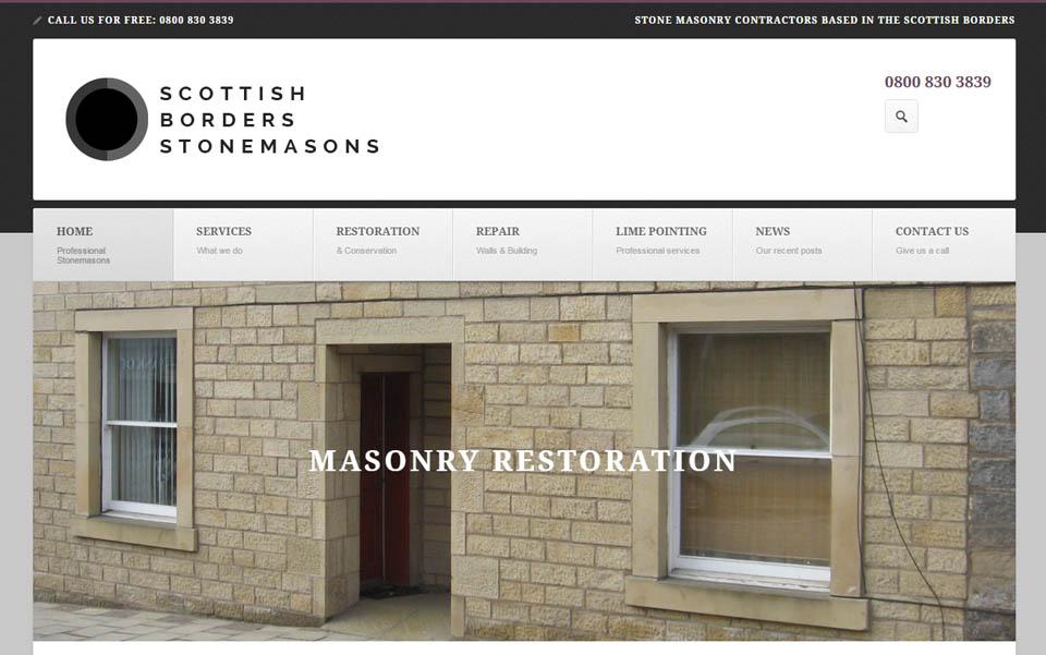 Scottish Borders Stonemasons