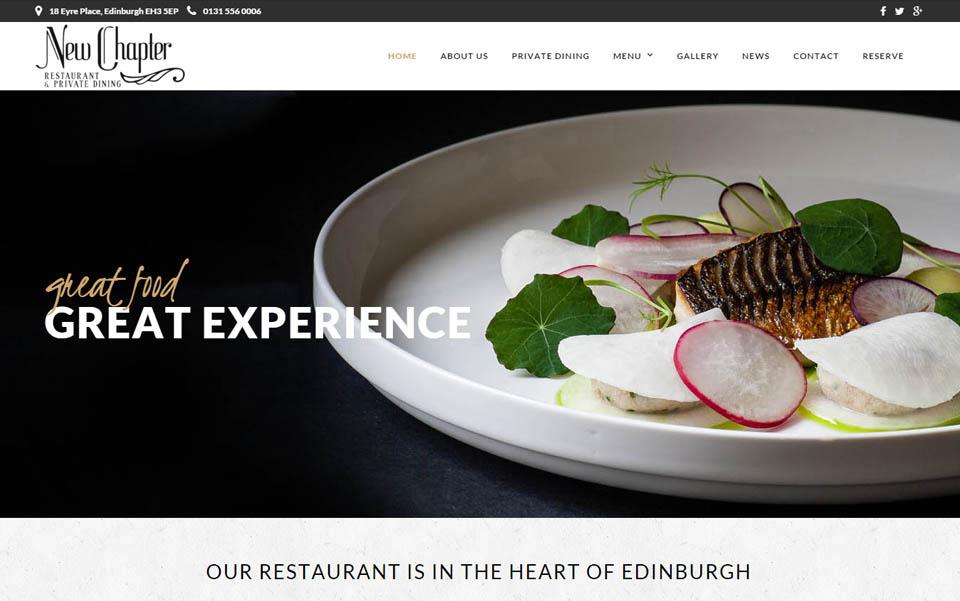 New Chapter Restaurant