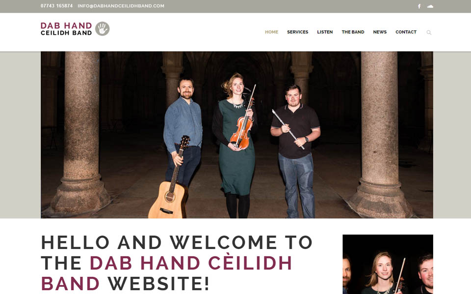 Dab Hand Ceilidh Band