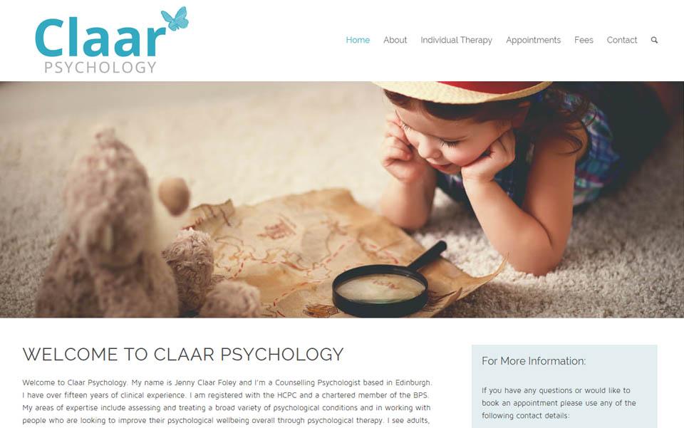 Claar Psychology
